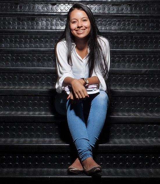 Aluna de colégio no Ipiranga, na zona sul da capital paulista, Ingrid Nascimento, 17, escolheu seguir carreira na engenharia civil