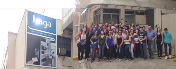 Alunos de Engenharia de Produção do UNIFESO fazem visita técnica à Haga