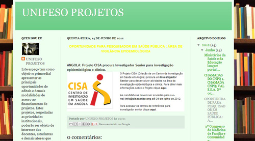 Blog Unifeso