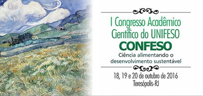 """UNIFESO realiza congresso com o tema """"Ciência Alimentando o Desenvolvimento Sustentável"""""""