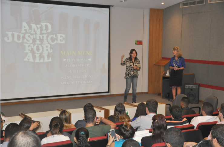 'Direito e Cinema' promove reflexão para estudantes do UNIFESO