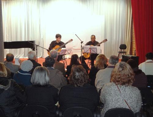 Exposição e Duo de Violões no Centro Cultural FESO Pro Arte