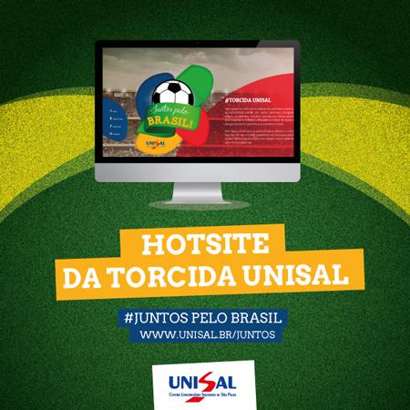 """UNISAL lança a campanha """"Juntos pelo Brasil"""""""