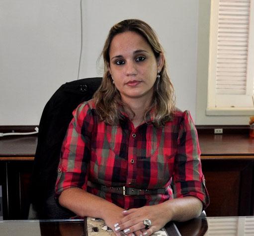 professora Verônica Santos Albuquerque, Reitora do UNIFESO