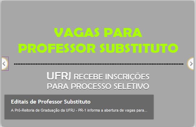 UFRJ-Macaé abre concurso com 12 vagas para professor substituto